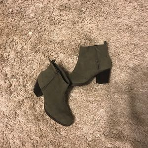 Old Navy Taupe Booties
